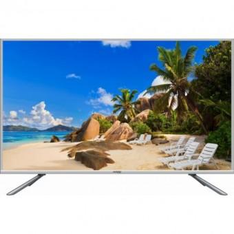 Televizor LED 32, meister Hausgerate, 32DK5, HD, Smart LED TV, 3D comb filter, Smart Energy Saving, Asamblat in Romania, Culoare Negru/Argintiu